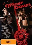 Officer Down - Australian DVD cover (xs thumbnail)