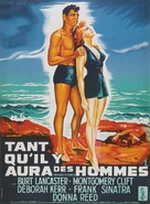 From Here to Eternity - French Movie Poster (xs thumbnail)