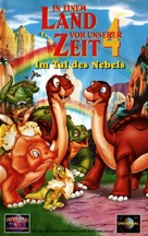 The Land Before Time IV: Journey Through the Mists - German VHS cover (xs thumbnail)