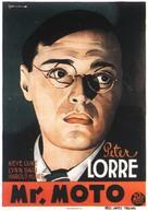 Mr. Moto's Gamble - Swedish Movie Poster (xs thumbnail)