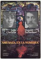 Don't Look Now - Spanish Movie Poster (xs thumbnail)