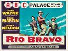 Rio Bravo - British Movie Poster (xs thumbnail)