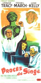 Inherit the Wind - French Movie Poster (xs thumbnail)