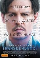 Transcendence - Australian Movie Poster (xs thumbnail)