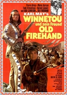 Winnetou und sein Freund Old Firehand - German Movie Poster (xs thumbnail)