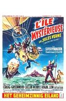 Mysterious Island - Belgian Movie Poster (xs thumbnail)