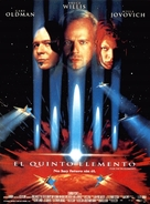The Fifth Element - Spanish Movie Poster (xs thumbnail)