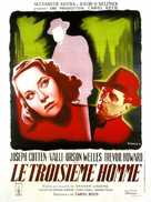 The Third Man - French Movie Poster (xs thumbnail)