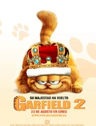 Garfield: A Tail of Two Kitties - Spanish Movie Poster (xs thumbnail)