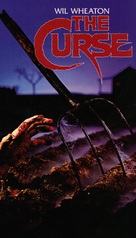 The Curse - VHS cover (xs thumbnail)