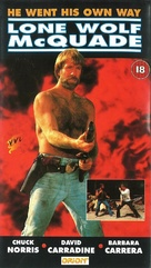 Lone Wolf McQuade - British VHS movie cover (xs thumbnail)