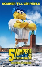 The SpongeBob Movie: Sponge Out of Water - Swedish Movie Poster (xs thumbnail)