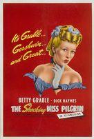 The Shocking Miss Pilgrim - British Movie Poster (xs thumbnail)