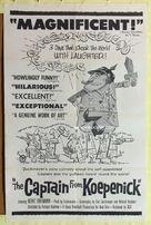 Hauptmann von Köpenick, Der - Movie Poster (xs thumbnail)