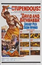 David and Bathsheba - Re-release poster (xs thumbnail)