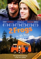 2 Frogs dans l'Ouest - Canadian DVD movie cover (xs thumbnail)