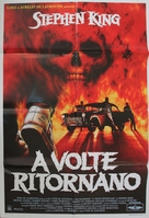 Sometimes They Come Back - Italian Movie Poster (xs thumbnail)