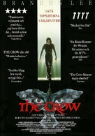 The Crow - Swedish Movie Poster (xs thumbnail)