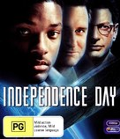Independence Day - Australian Blu-Ray cover (xs thumbnail)