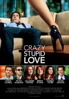 Crazy, Stupid, Love. - Italian Movie Poster (xs thumbnail)