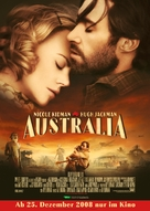 Australia - German Movie Poster (xs thumbnail)