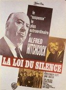 I Confess - French Movie Poster (xs thumbnail)