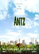 Antz - Australian Movie Poster (xs thumbnail)