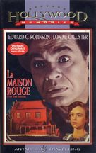 The Red House - French VHS cover (xs thumbnail)