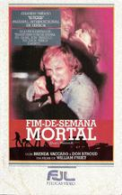 Death Weekend - Brazilian VHS cover (xs thumbnail)