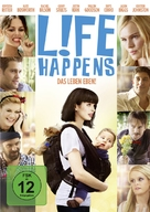 L!fe Happens - German DVD cover (xs thumbnail)