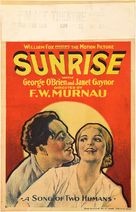 Sunrise: A Song of Two Humans - Movie Poster (xs thumbnail)