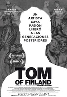 Tom of Finland - Spanish Movie Poster (xs thumbnail)