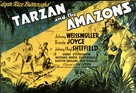 Tarzan and the Amazons - British Movie Poster (xs thumbnail)