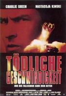 Terminal Velocity - German Movie Poster (xs thumbnail)