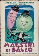 The Dancing Masters - Italian Movie Poster (xs thumbnail)