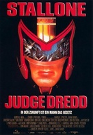 Judge Dredd - German Movie Poster (xs thumbnail)