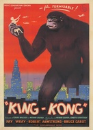 King Kong - French Movie Poster (xs thumbnail)