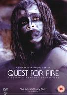 La guerre du feu - British DVD movie cover (xs thumbnail)