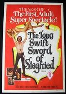 Siegfried und das sagenhafte Liebesleben der Nibelungen - Australian Movie Poster (xs thumbnail)