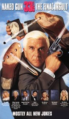 Naked Gun 33 1/3: The Final Insult - VHS movie cover (xs thumbnail)