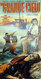 The Big Sky - Italian Movie Poster (xs thumbnail)