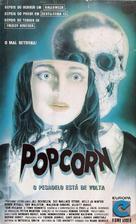 Popcorn - Brazilian VHS movie cover (xs thumbnail)
