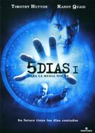 5ive Days to Midnight - Spanish poster (xs thumbnail)