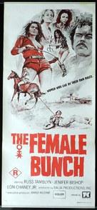 The Female Bunch - Australian Movie Poster (xs thumbnail)