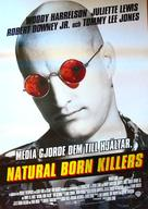 Natural Born Killers - Swedish Movie Poster (xs thumbnail)