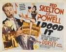 I Dood It - Movie Poster (xs thumbnail)