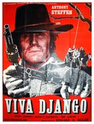 W Django! - French Movie Poster (xs thumbnail)