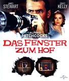 Rear Window - German Blu-Ray movie cover (xs thumbnail)