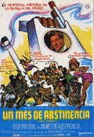 Cold Turkey - Spanish Movie Poster (xs thumbnail)