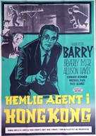 Hong Kong Confidential - Swedish Movie Poster (xs thumbnail)